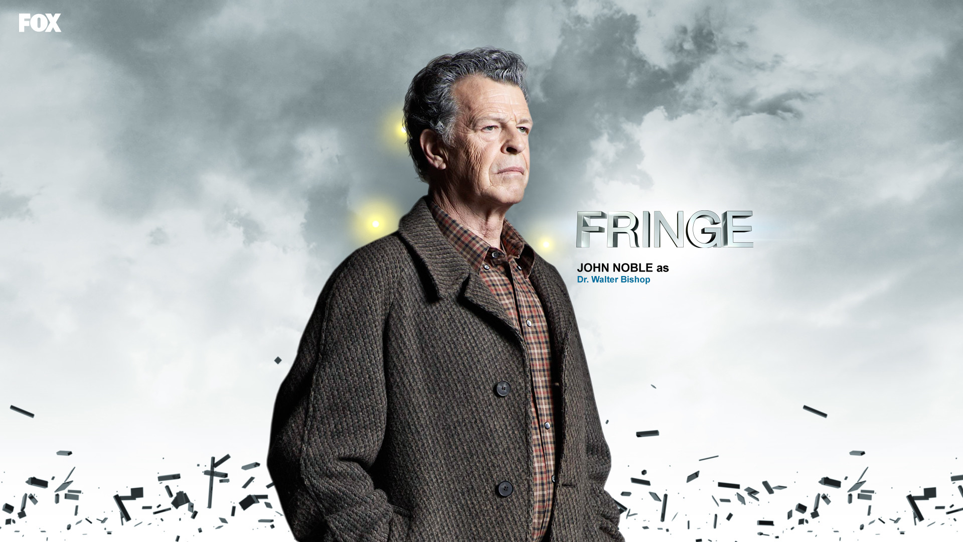Here are some cool HD wallpapers of the geeky sci-fi TV show Fringe :