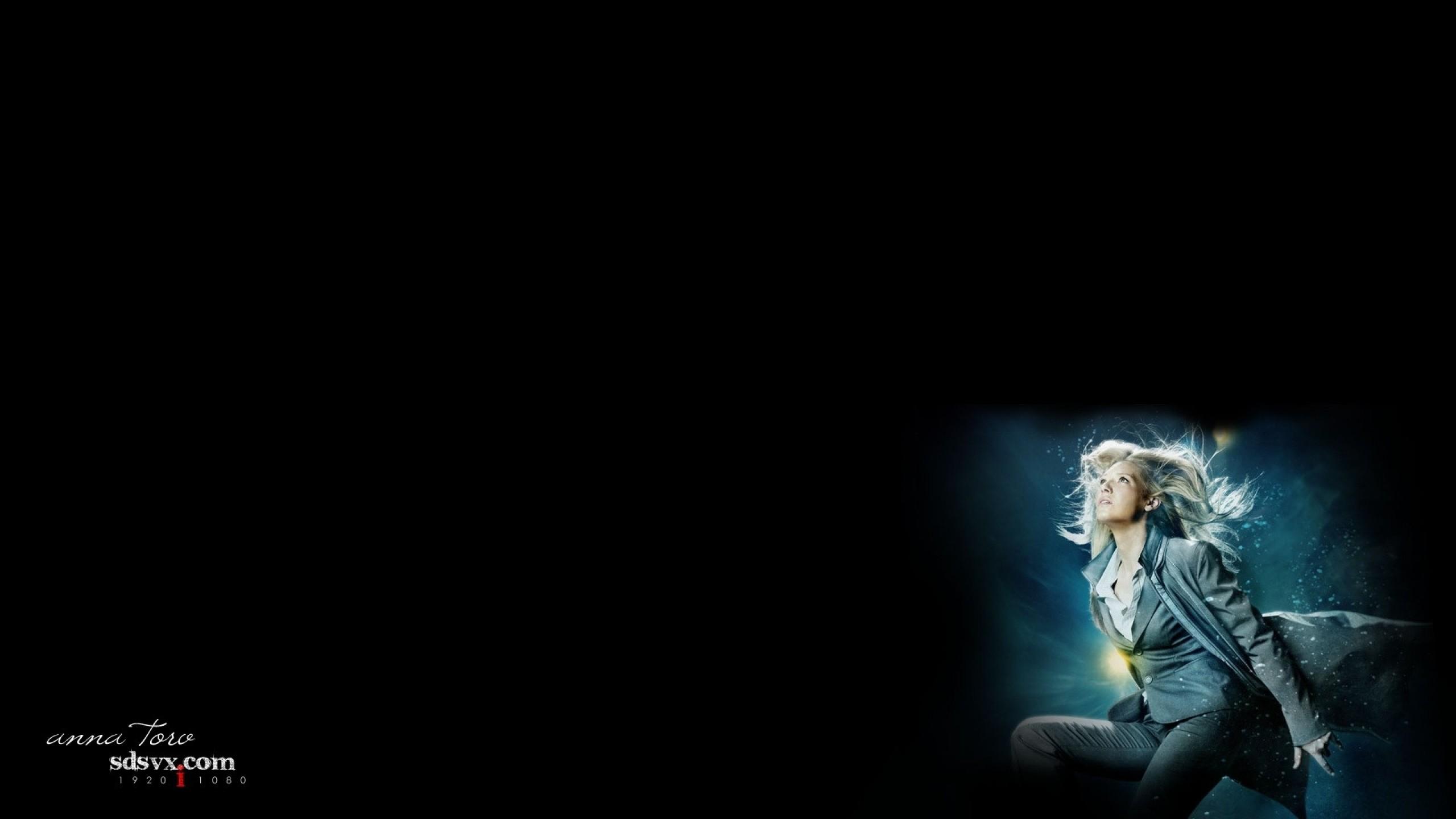 women models fringe anna torv vignette black background 1920×1080 wallpaper  Art HD Wallpaper
