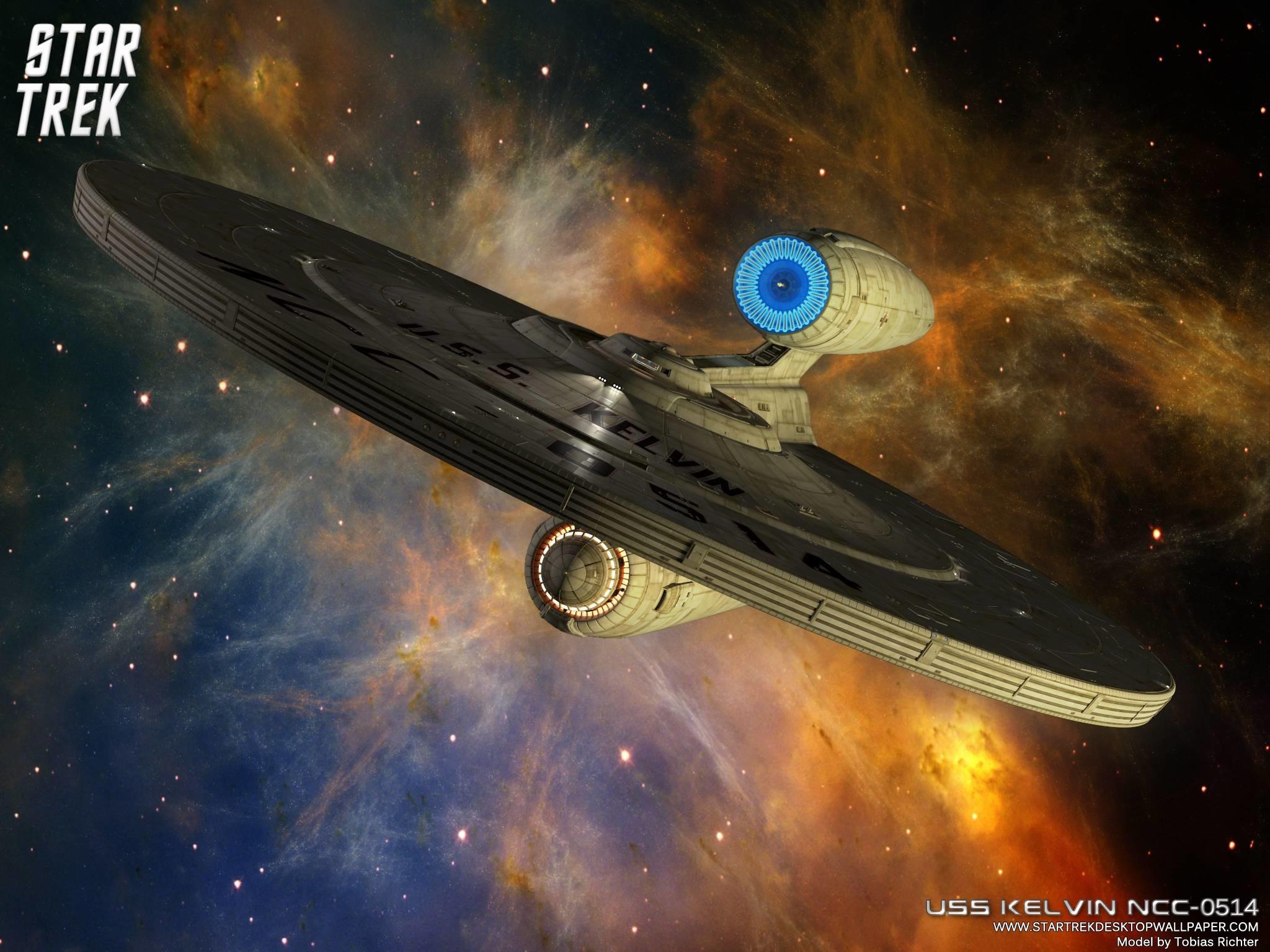 Star Trek Federation Star Ship USS Kelvin NCC 0514, free Star Trek .