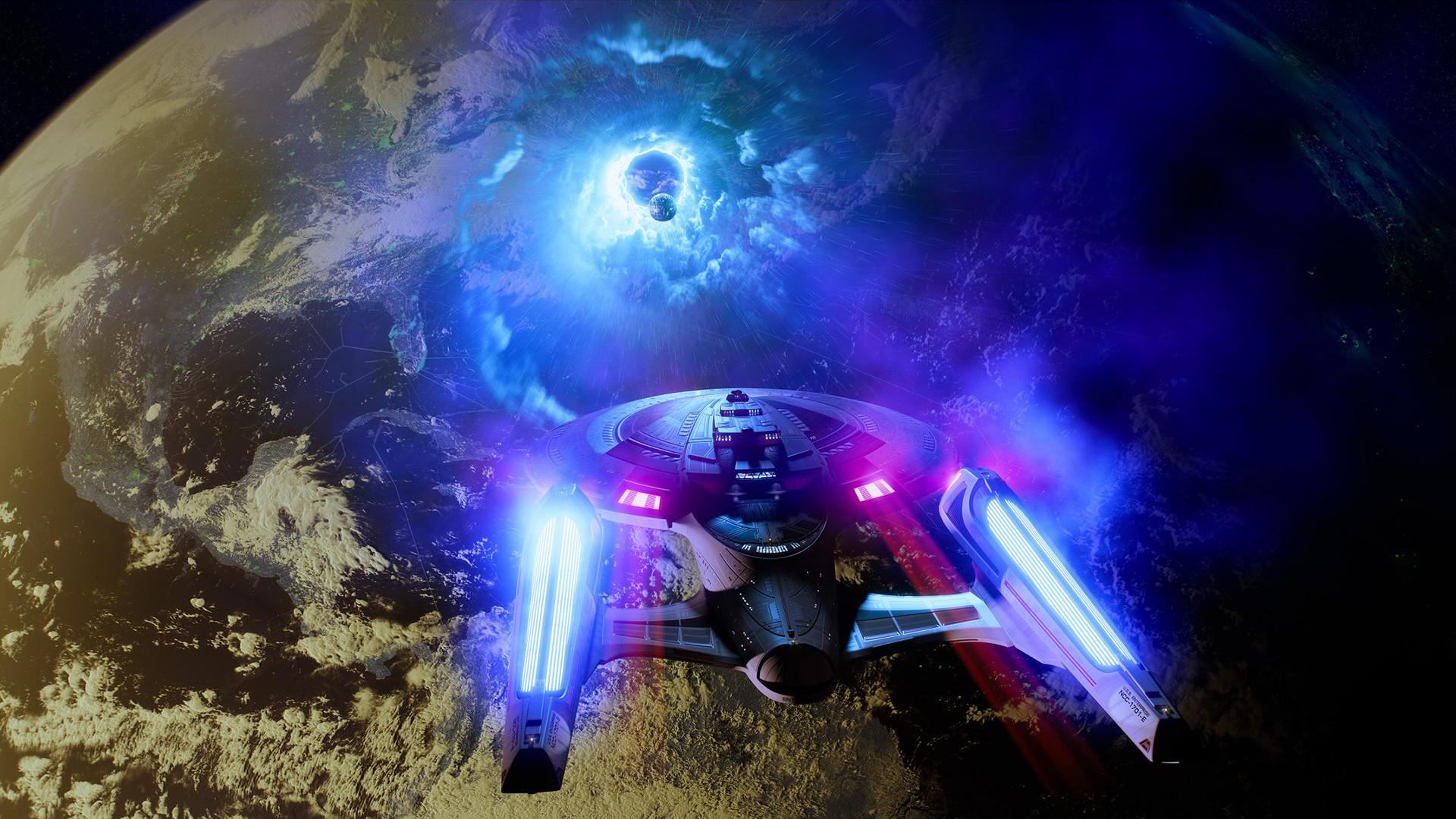 Star Trek Starship Enterprise Spaceship Warp Planet Alien Civilization  wallpaper     112946   WallpaperUP