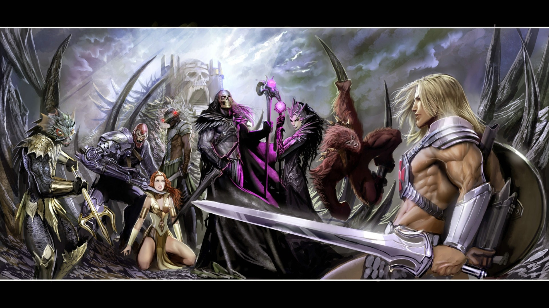 Comics – He-Man And The Masters Of The Universe He-Man She-