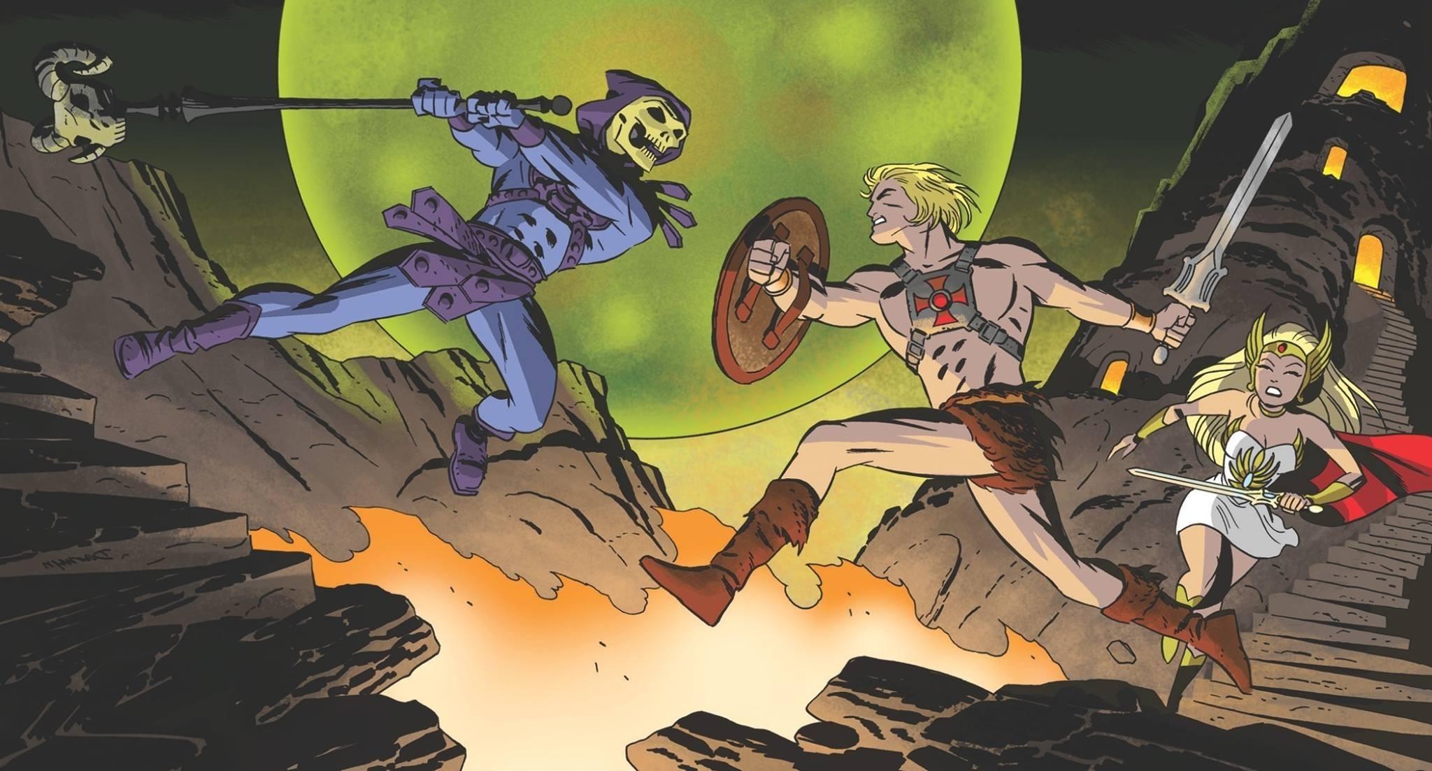 He Man, Skeletor, Comics Wallpapers HD / Desktop and Mobile Backgrounds