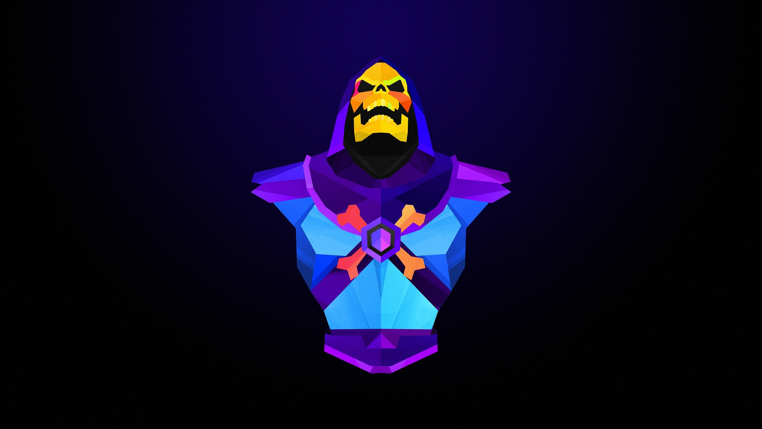 General abstract Skeletor Justin Maller villains He-Man artwork He -Man and the