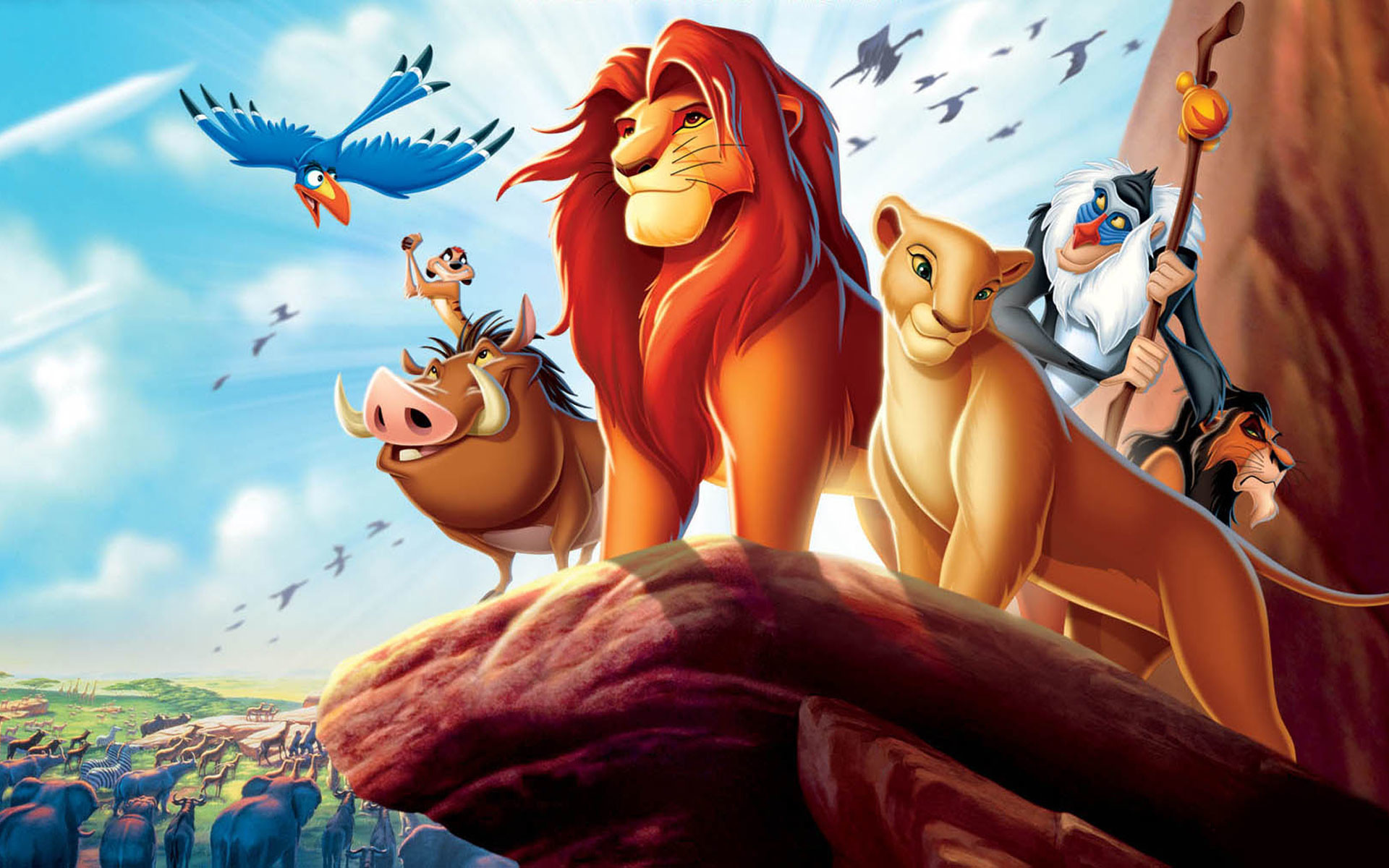 lion with other members