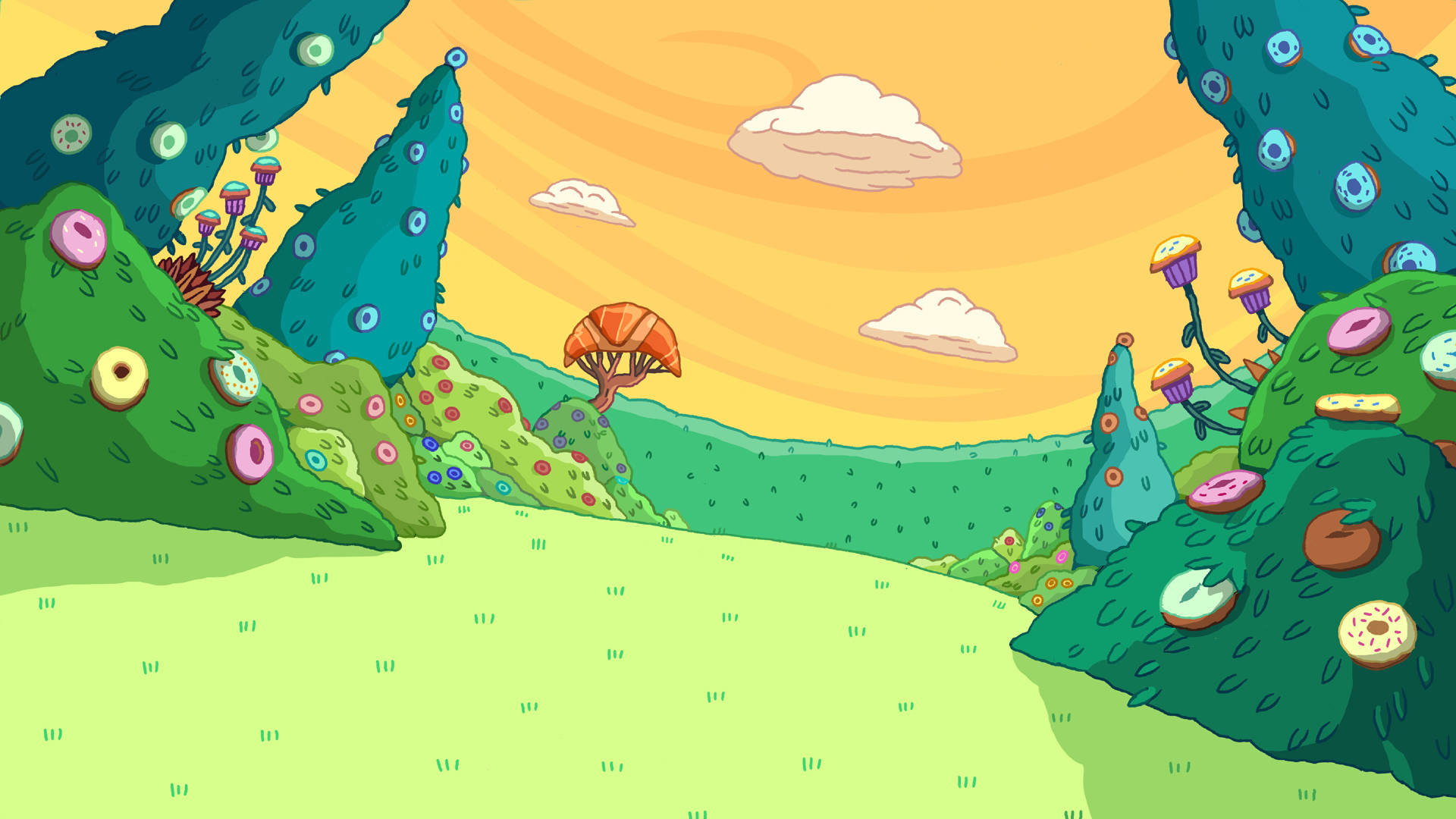 Adventure Time Background wallpaper