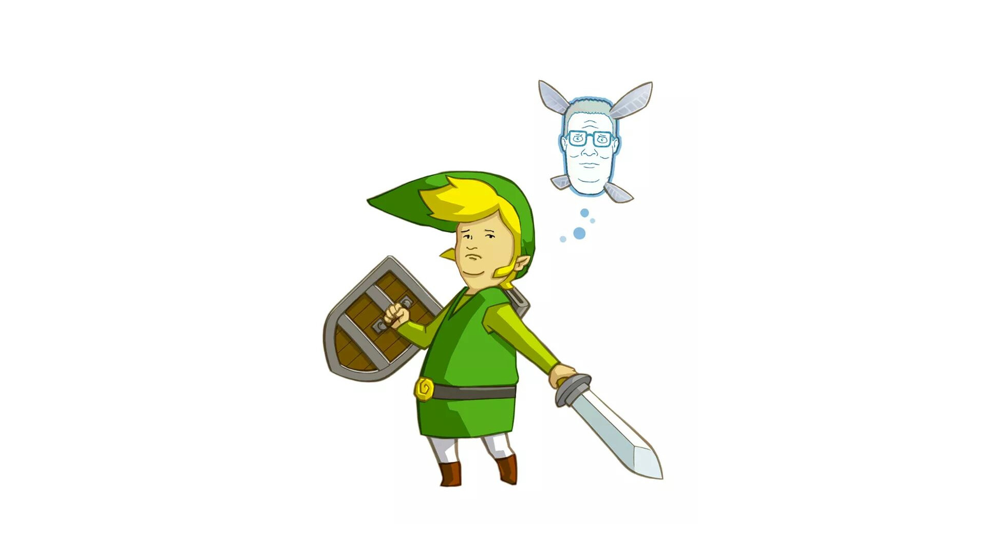 General crossover humor King of the Hill The Legend of Zelda