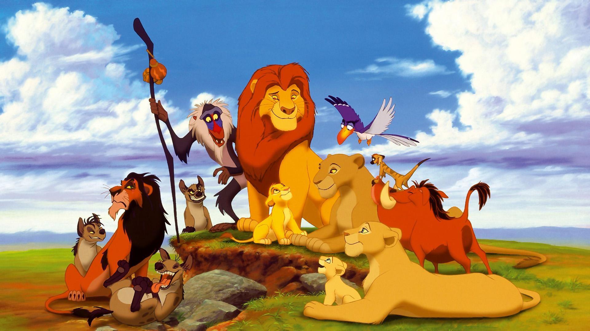 Cartoon Lion King wallpaper