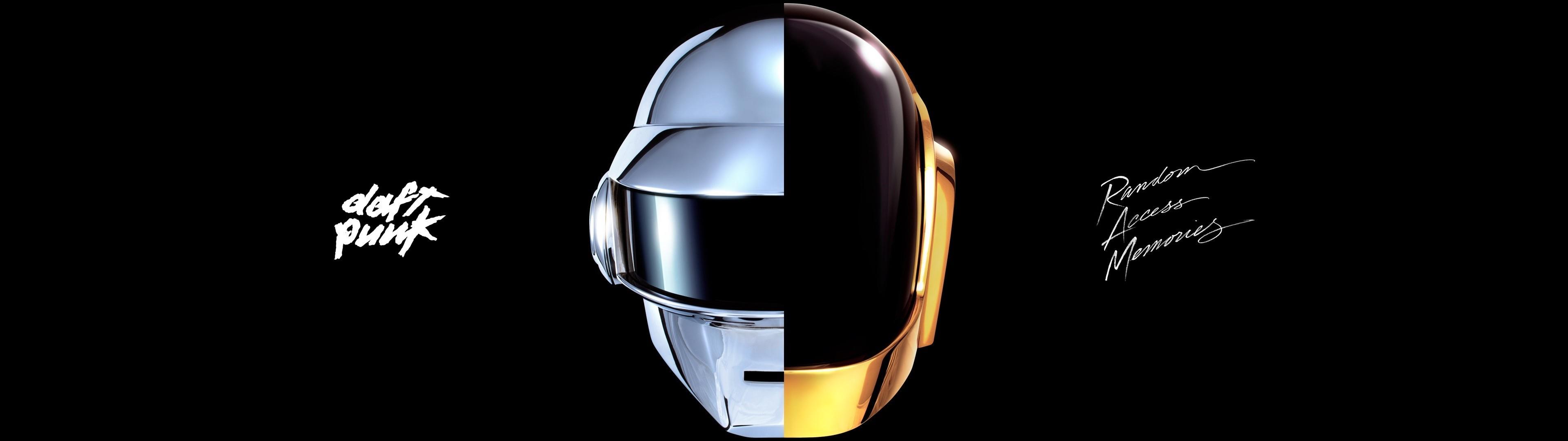 Daft Punk (dual monitor) [3840×1080] (xpost /r/wallpapers) …