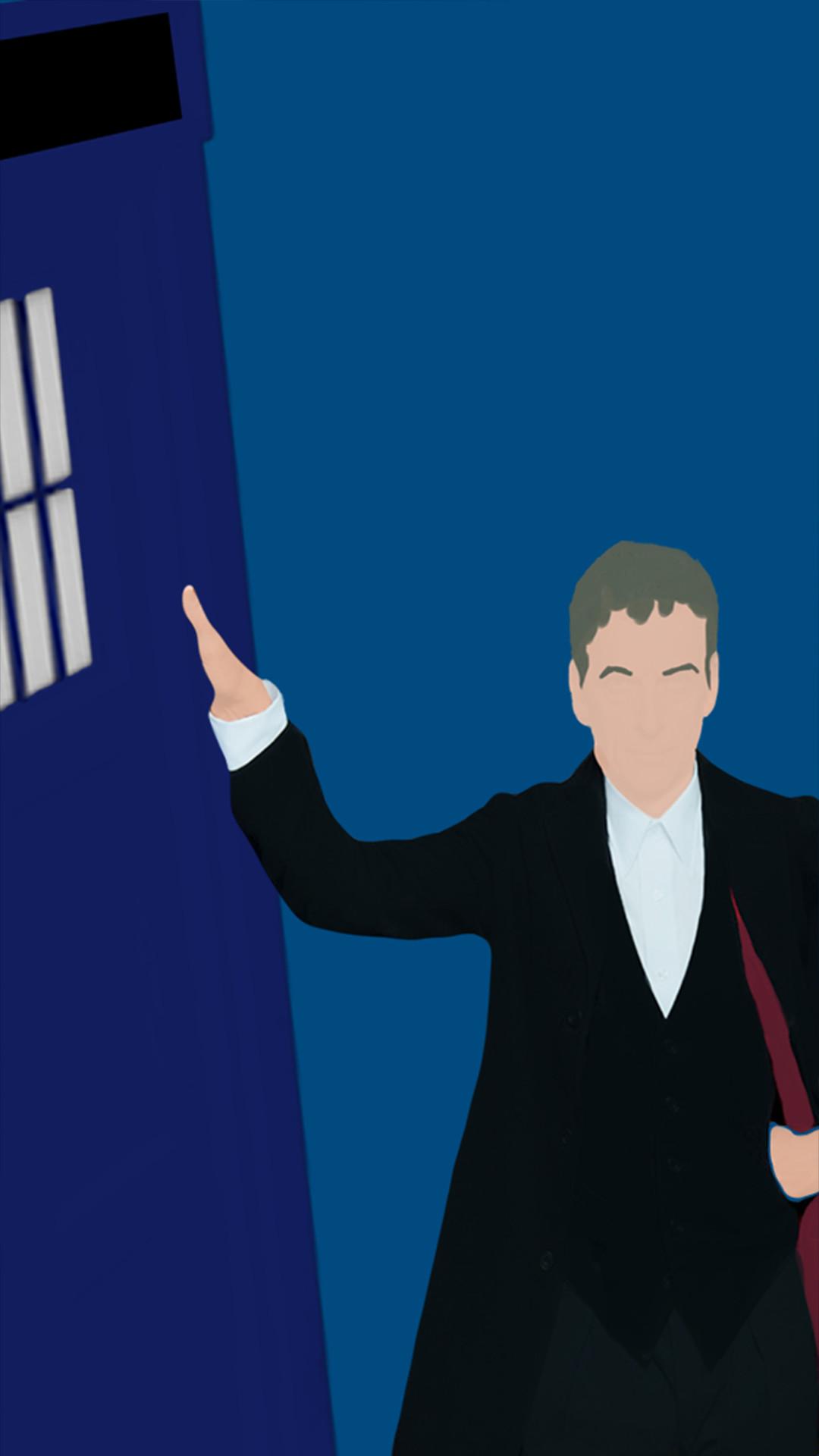 these minimalistic Season 8 Doctor Who wallpapers! | yBaX |> START .