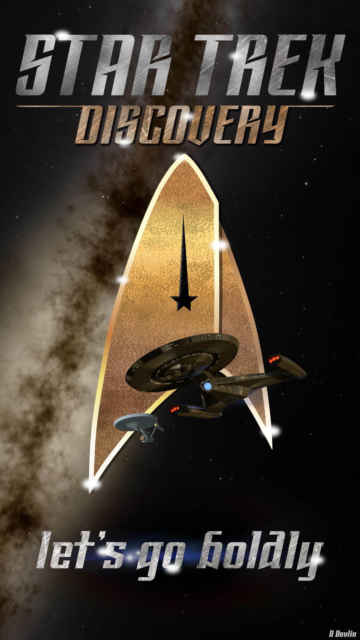 Star Trek Discovery Phone Wallpaper