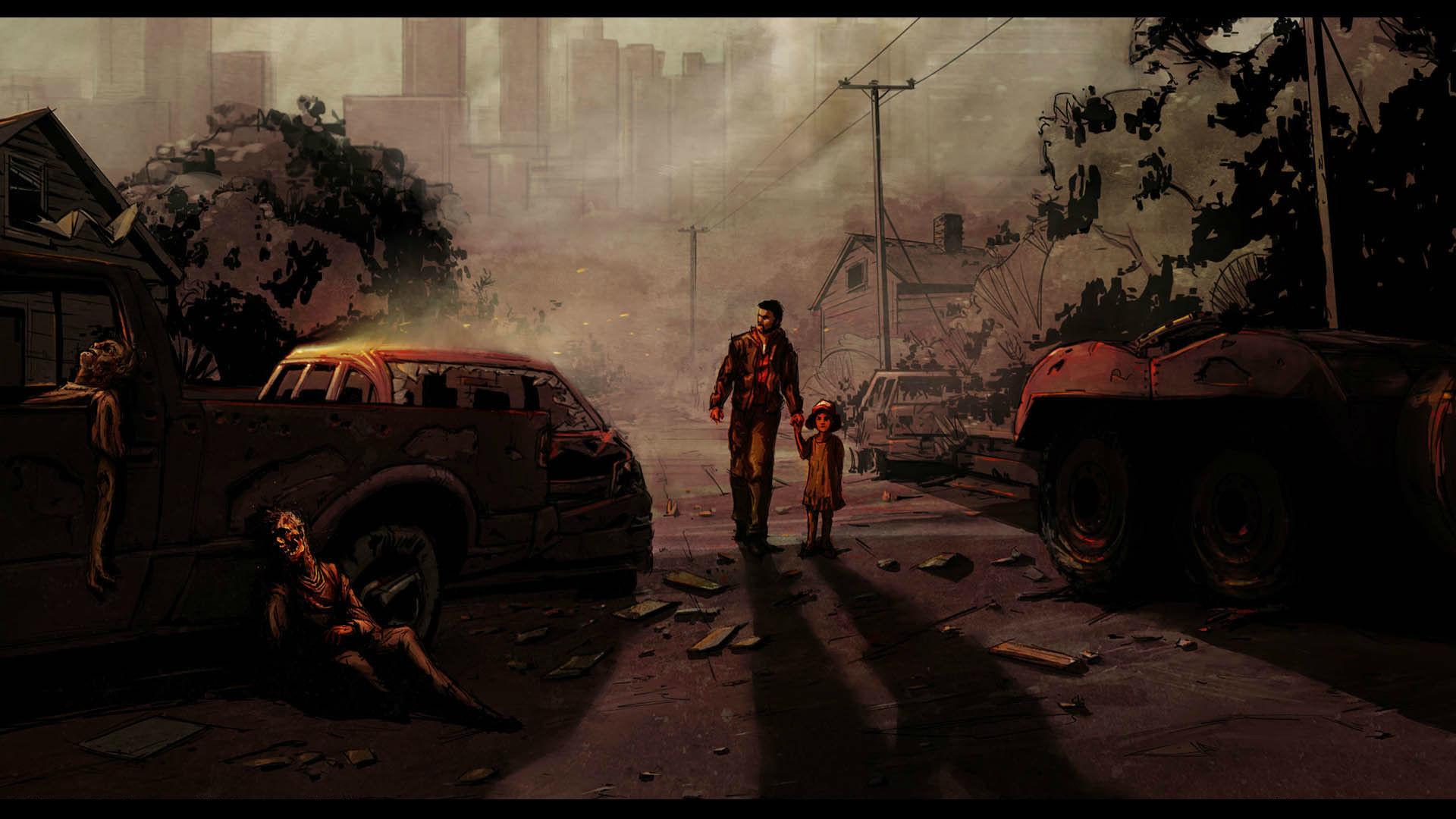 17 The Walking Dead: Season 1 HD Wallpapers   Backgrounds – Wallpaper Abyss