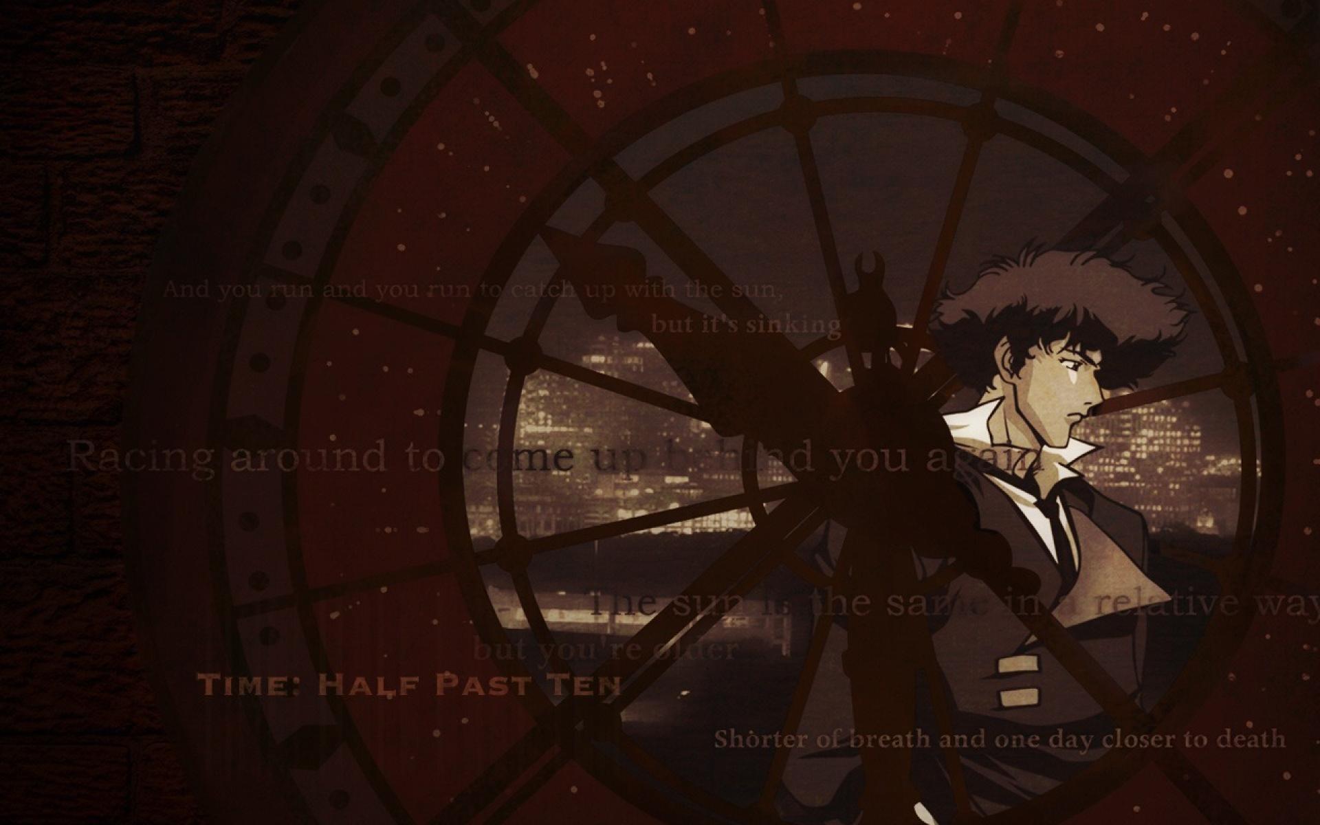 Spiegel Bildschirmhintergrund : Cowboy bebop spike clock wallpaper customity