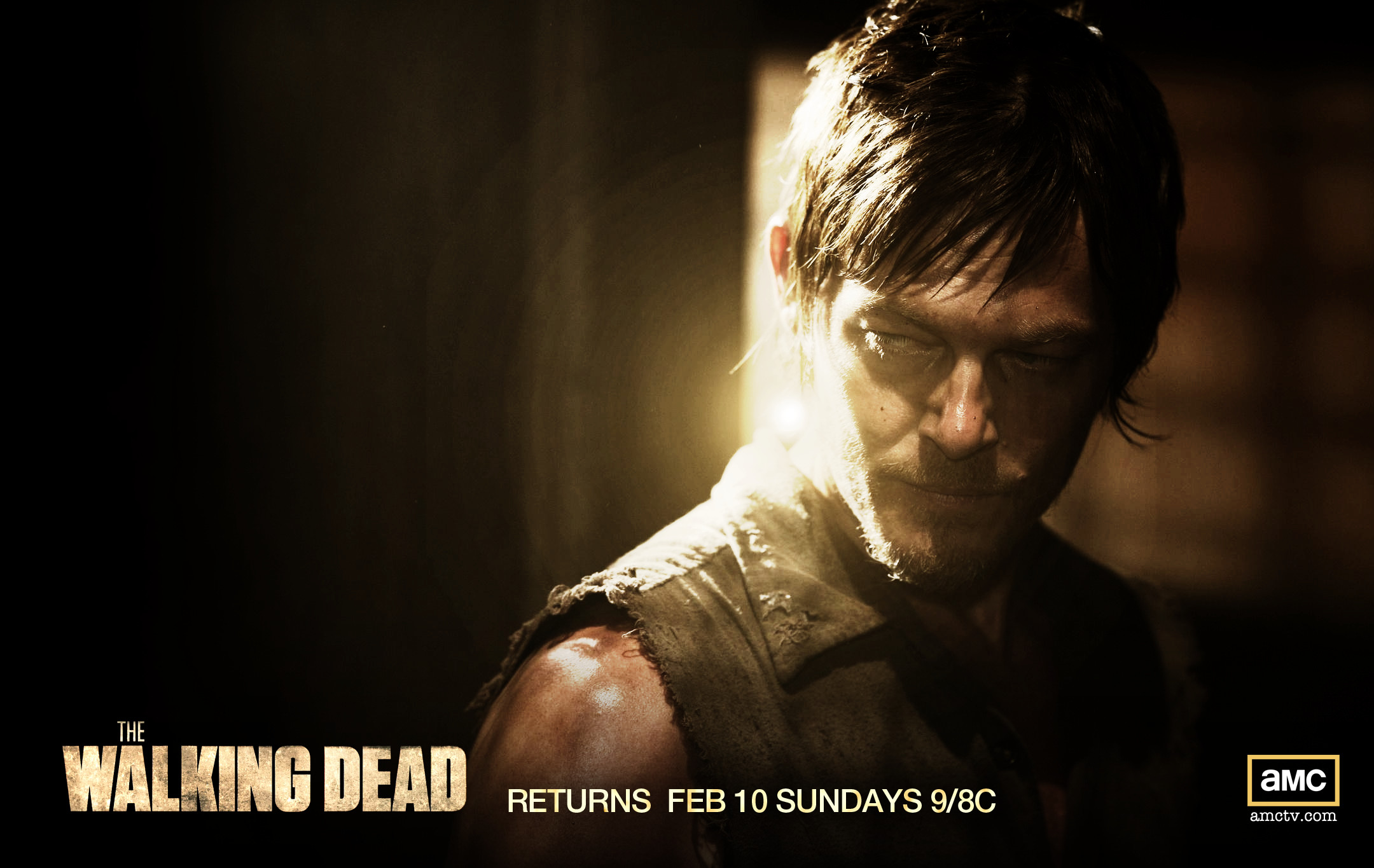 Widescreen Wallpapers: Daryl Walking Dead, (2160×1365, V.22) – NM
