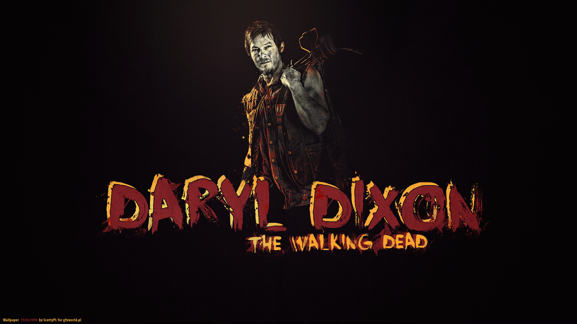Walking Dead Daryl Wallpaper | … Dead Daryl Dixon The Walking Dead Norman  Reedus