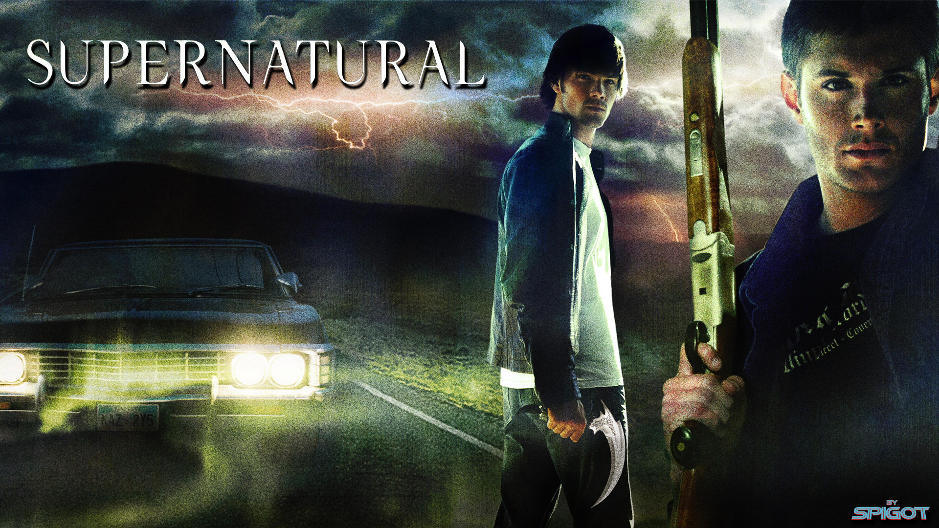 Tags:Supernatural, Wallpaper Posted in Desktop Wallpaper's | Leave a  Comment »