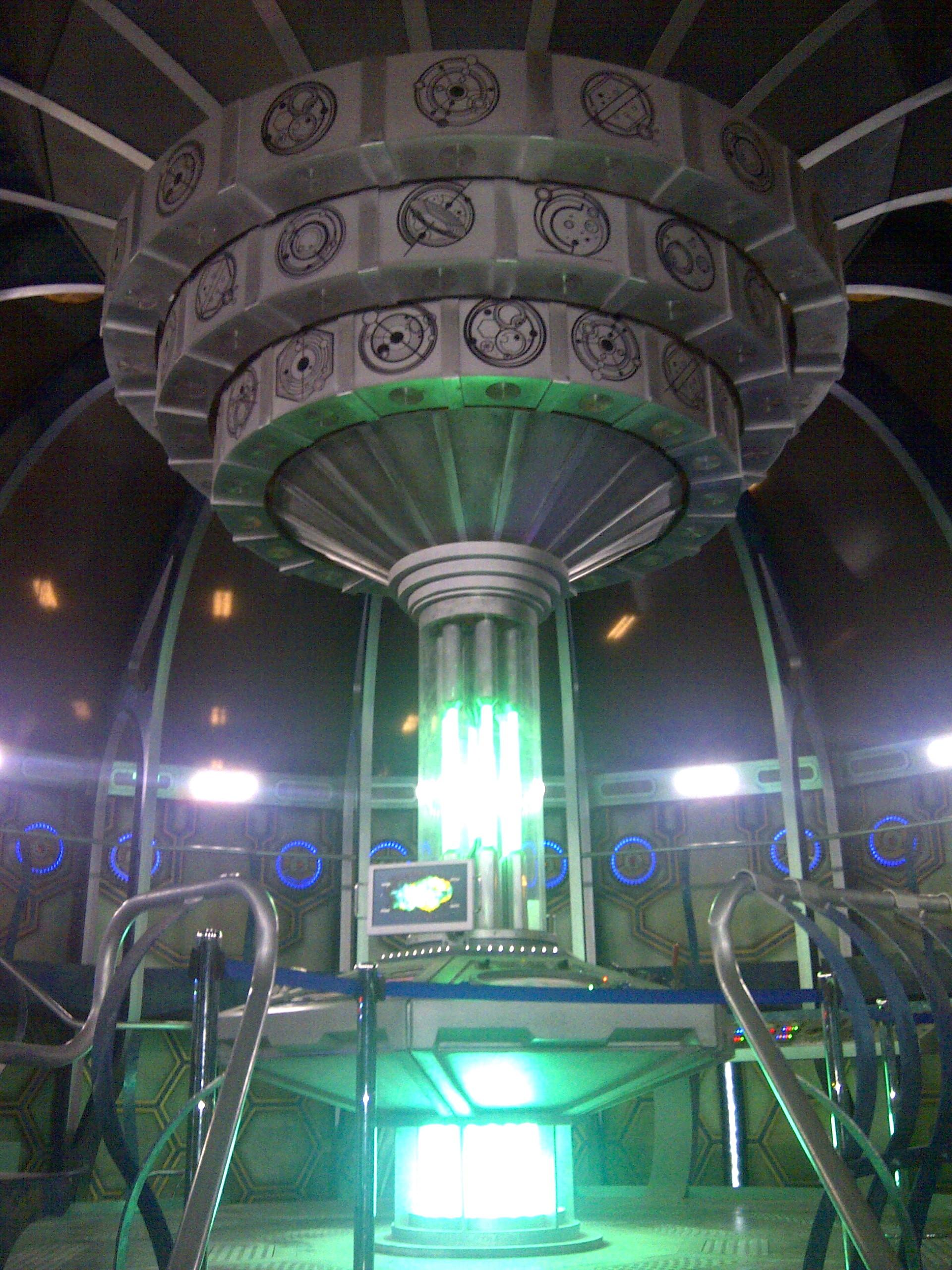 Tardis Inside Doctor who experience + tardis