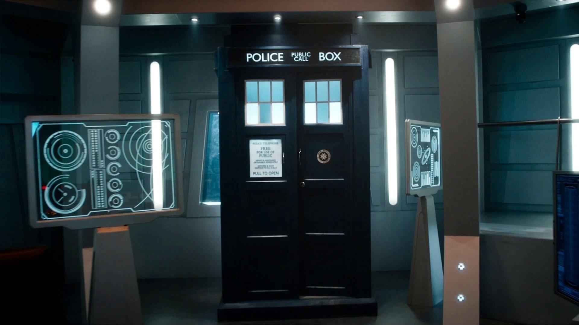 … TARDIS World Enough And Time …