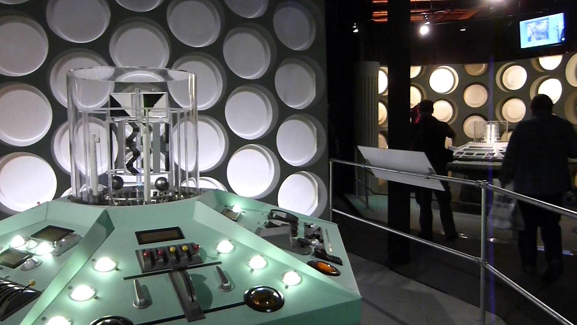 1960s TARDIS set