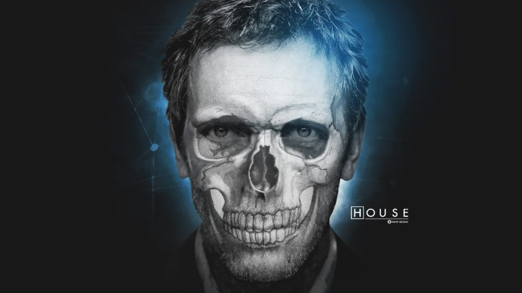 Drawings Gregory House M.D. Houses Skulls