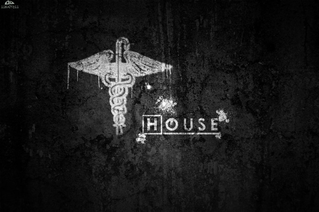 … Dr. House (Wallpaper 31) by 11kaito11