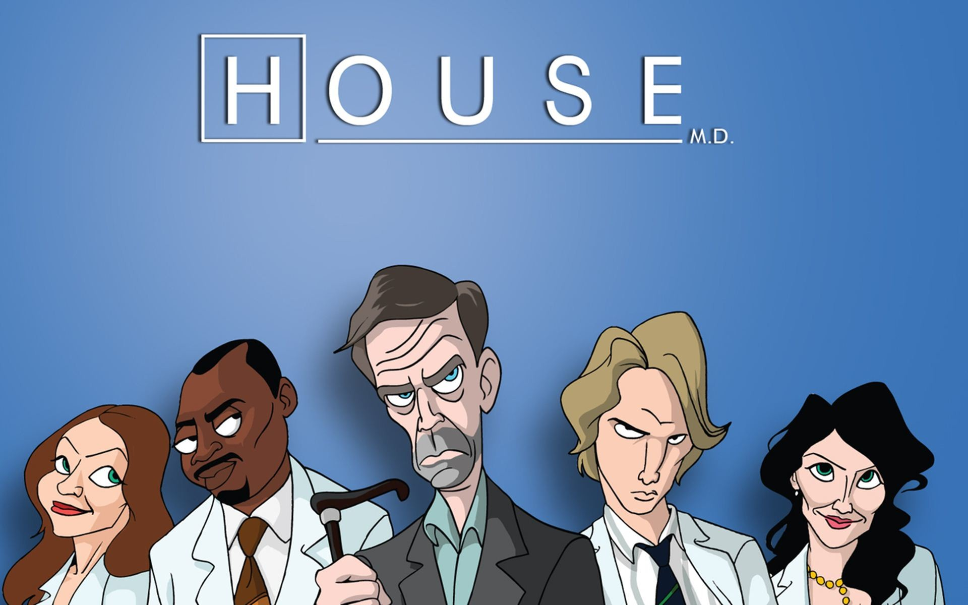 House TV Series | Homepage » TV Series » House » House TV Show Animated  Wallpaper