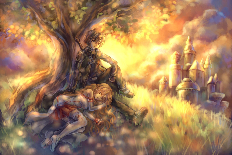 Anime – Sword Art Online Tandolcedeco Kirito (Sword Art Online) Asuna Yuuki  Baum Schloss