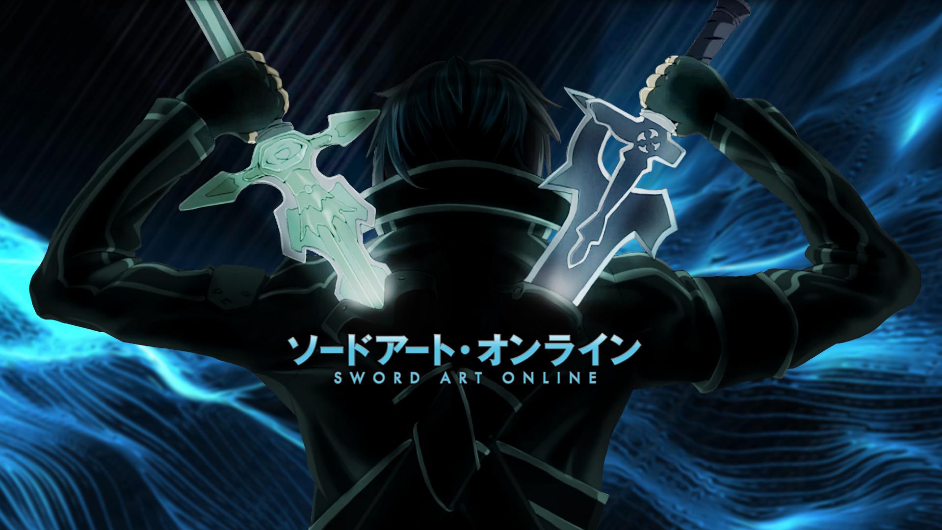 Anime – Sword Art Online Kazuto Kirigaya Kirito (Sword Art Online) Wallpaper